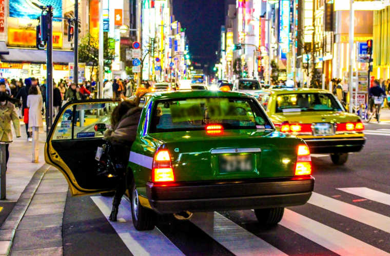 東京でタクシーを呼ぶ迎車料金