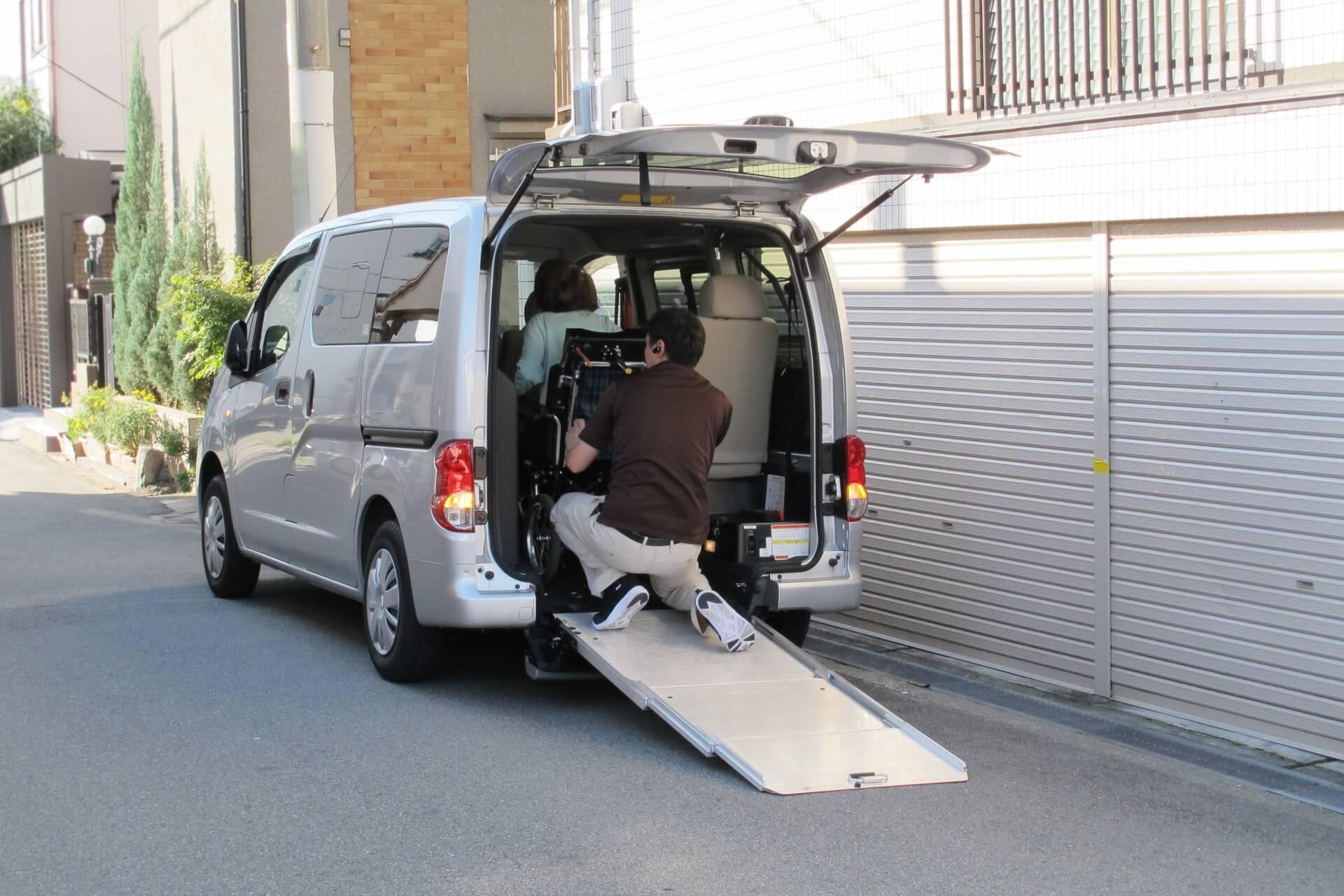 車椅子対応福祉車両レンタカーの仕様