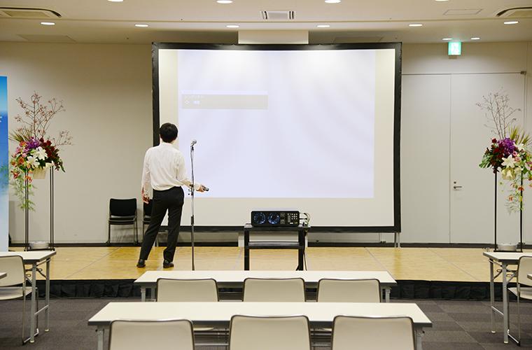 画像:イベント設営風景