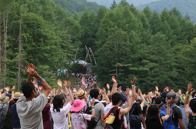 画像:フェスの風景