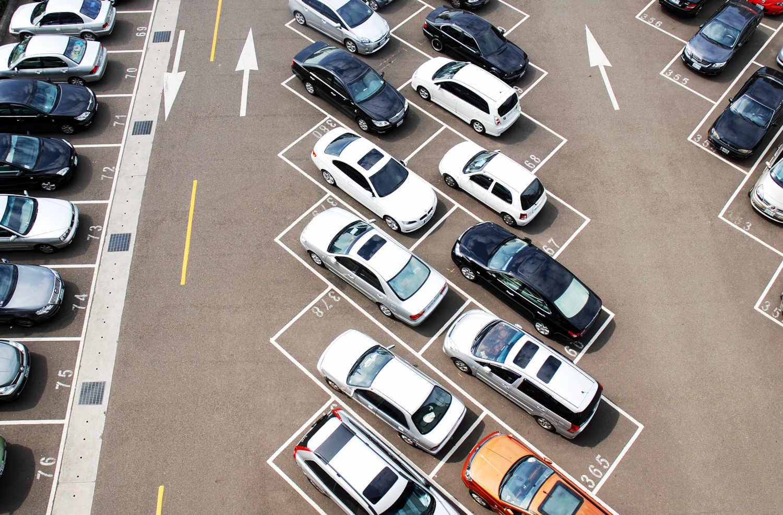 駐車場が見つからないことがある
