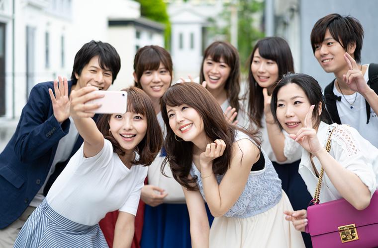 画像:グループ旅行